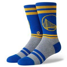 Stance Mens Golden State Warriors City Gym Socks Blue / Yellow M, Blue / Yellow, rebel_hi-res