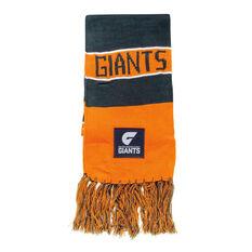 AFL GWS GIANTS Supporter Scarf, , rebel_hi-res
