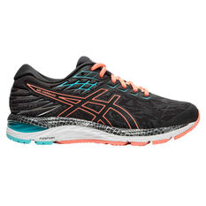 Asics GEL Cumulus 21 Liteshow 2.0 Womens Running Shoes Grey / Coral US 6, Grey / Coral, rebel_hi-res