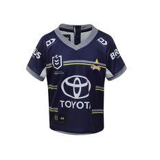 North Queensland Cowboys 2021 Infants Home Jersey Navy 0, Navy, rebel_hi-res