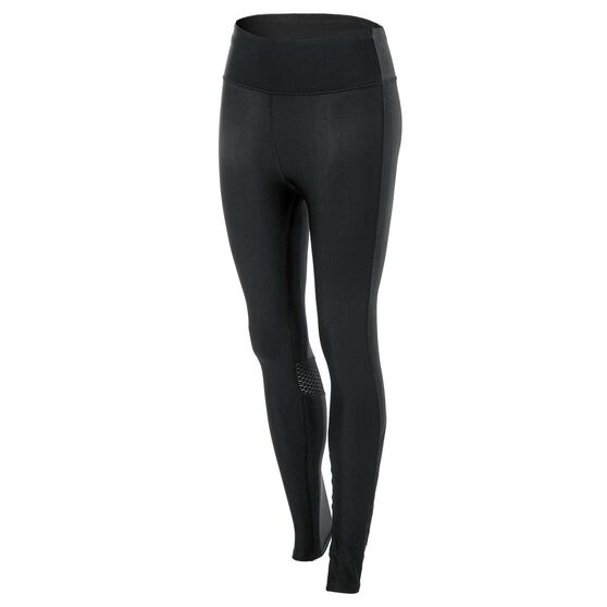 Under Armour Womens Fly By Long Tights Black S, Black, rebel_hi-res