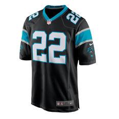 Carolina Panthers Christian McCaffrey Mens Jersey, Black, rebel_hi-res
