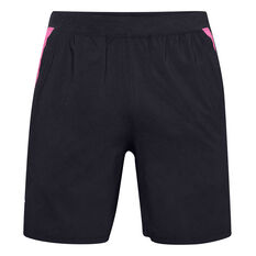 Under Armour Mens UA Launch SW Shorts Black S, Black, rebel_hi-res