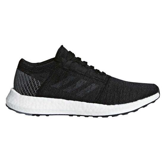 adidas Pureboost GO Womens Running Shoes, Black / Grey, rebel_hi-res