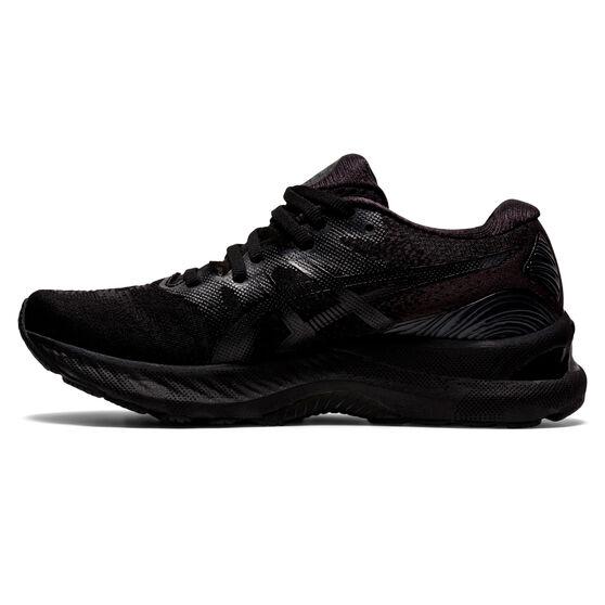 Asics GEL Nimbus 23 Womens Running Shoes, Black, rebel_hi-res