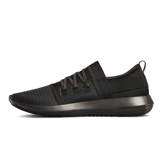 Under Armour Adapt Mens Casual Shoes Black US 7, Black, rebel_hi-res