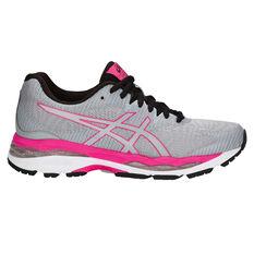 Asics GEL Ziruss 2 Womens Running Shoes Grey US 6, Grey, rebel_hi-res