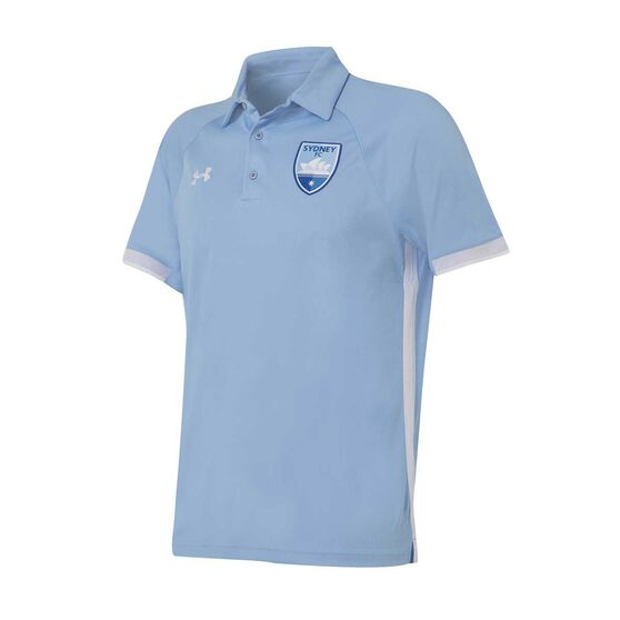 Sydney FC 2019/20 Mens Polo, Blue, rebel_hi-res
