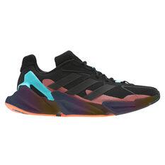 adidas X9000L4 Mens Casual Shoes Black/Aqua US 7, Black/Aqua, rebel_hi-res