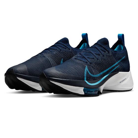Nike Air Zoom Tempo Next% Mens Running Shoes, Navy/Blue, rebel_hi-res