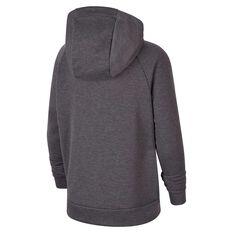 Nike Dri-FIT Boys Full Zip Graphic Training Hoodie Grey / Black XS, Grey / Black, rebel_hi-res