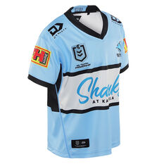 Cronulla-Sutherland Sharks 2021 Kids Home Jersey Blue 14, Blue, rebel_hi-res