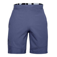 Under Armour Mens Vanish Woven Training Shorts, Blue, rebel_hi-res