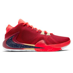 Nike Zoom Freak 1 Mens Basketball Shoes Red / Black US 7, , rebel_hi-res