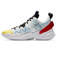 Nike Air Jordan Why Not Zer0.3 SE Mens Basketball Shoes White/Red US 7, White/Red, rebel_hi-res