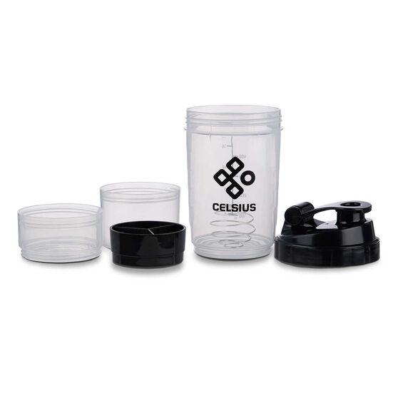Celsius 500ml Compartment Shaker Bottle, , rebel_hi-res