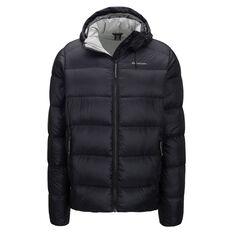 Macpac Mens Sundowner Hooded Jacket, Black, rebel_hi-res