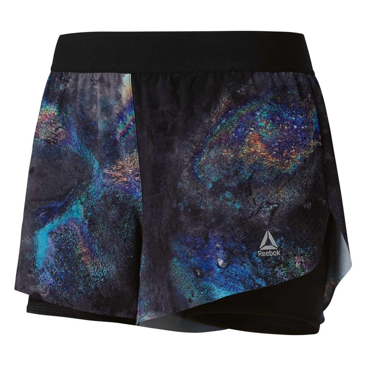 Reebok Womens Oil Slick Epic Shorts