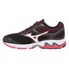 Mizuno Wave Inspire 13 Womens Running Shoes Black / Pink US 6, Black / Pink, rebel_hi-res