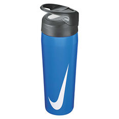 Nike Hypercharge Stainless Steel 473ml Water Bottle, Signal Blue, rebel_hi-res