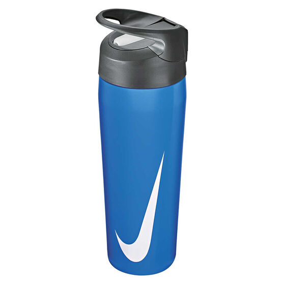 Nike Hypercharge Stainless Steel 473ml Water Bottle Signal Blue, Signal Blue, rebel_hi-res