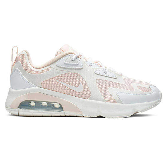 Nike Air Max 200 Womens Casual Shoes, Pink / White, rebel_hi-res