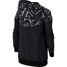 Nike Sportswear Boys Just Do It Windrunner Jacket Black / White XS, Black / White, rebel_hi-res