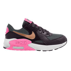 Nike Air Max Excee Kids Casual Shoes Black US 4, Black, rebel_hi-res