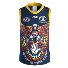 Adelaide Crows 2020 Kids Indigenous Guernsey Blue 8, Blue, rebel_hi-res