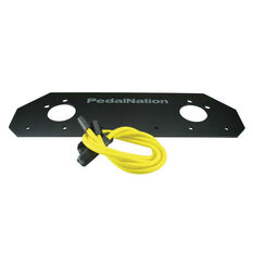 Pedal Nation Bike Rack Number Plate Holder, , rebel_hi-res