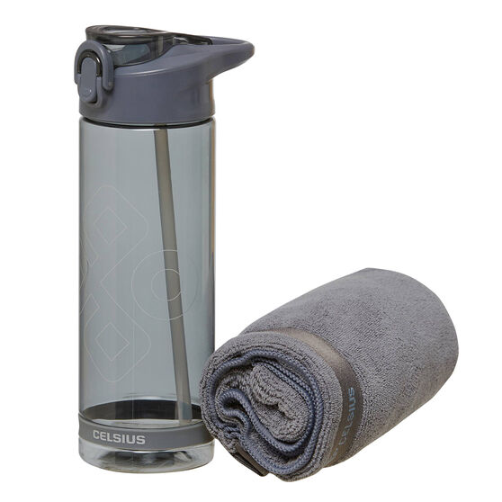 Celsius Towel and Water Bottle Gift Pack, , rebel_hi-res