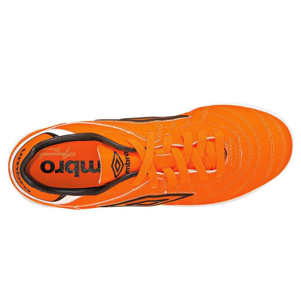 4273638d4 Umbro Speciali Eternal Club Junior Indoor Soccer Shoes Orange   White US 6