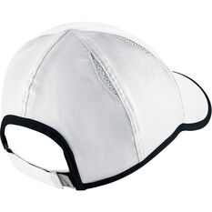 Nike Featherlight Cap, White / Black, rebel_hi-res