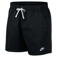 Nike Mens Sportswear Woven Flow Shorts Black S, Black, rebel_hi-res