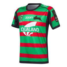 South Sydney Rabbitohs 2021 Mens Home Jersey Green S Green, Green, rebel_hi-res
