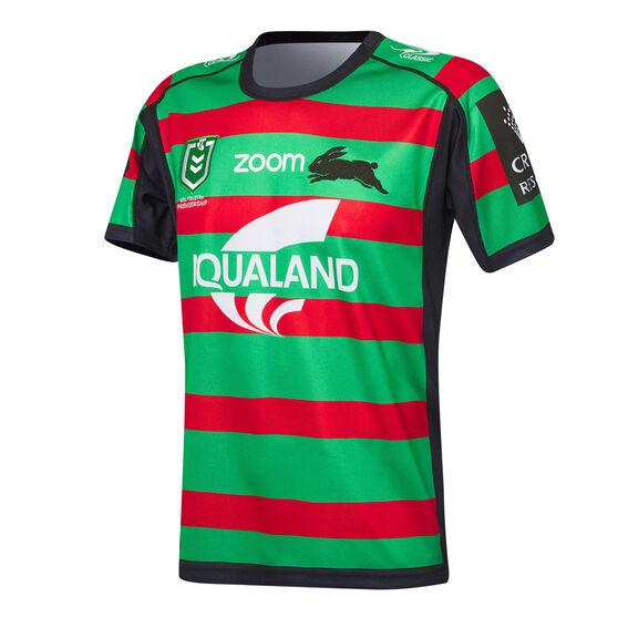 South Sydney Rabbitohs 2021 Mens Home Jersey, Green, rebel_hi-res
