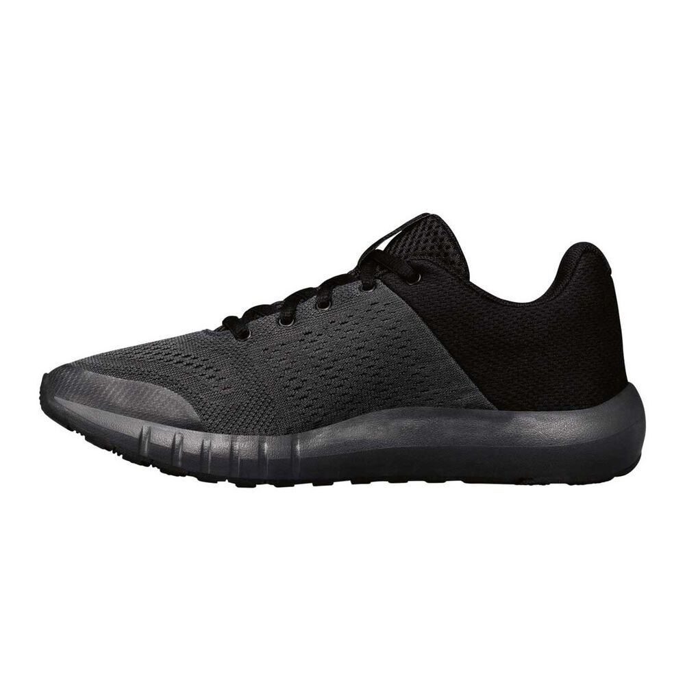 d897fac1 Under Armour Pursuit Kids Running Shoes Anthracite / Black US 4, Anthracite  / Black,