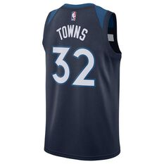 1b2b548ce806 ... College Nike Minnesota Timberwolves Karl-Anthony Towns 2019 Mens  Swingman Jersey College Navy S
