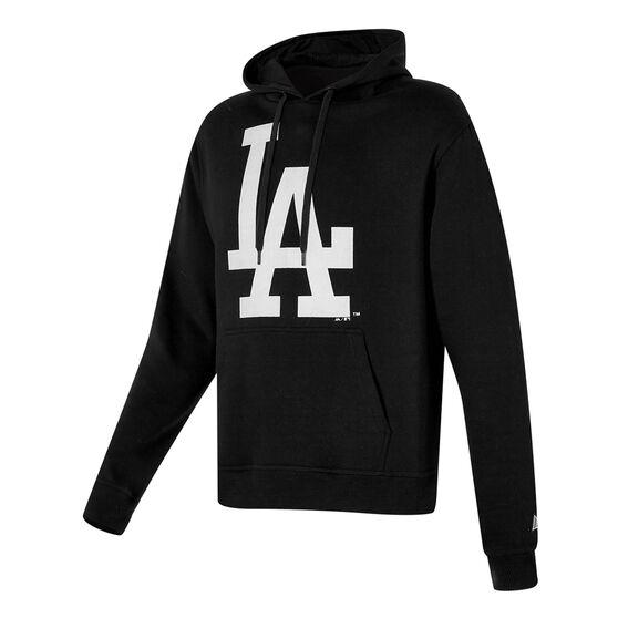 LA Dodgers 2021 Mens Prism Hoodie, Black, rebel_hi-res