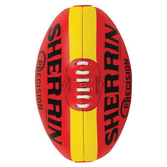 Sherrin Precision Football Red / Yellow 2, , rebel_hi-res
