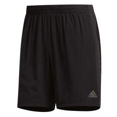 adidas Mens Supernova Shorts Black S, Black, rebel_hi-res