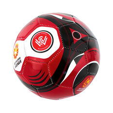 A League Western Sydney Wanderers Mini Supporter Soccer Ball, , rebel_hi-res