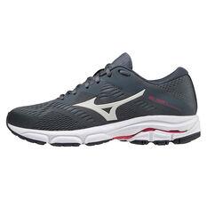Mizuno Wave Equate 5 Womens Running Shoes Grey/Pink US 6, Grey/Pink, rebel_hi-res