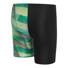 Speedo Boys Leisure Prismz Waterboy Swim Shorts Black 6, Black, rebel_hi-res