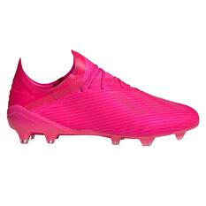 adidas X 19.1 Football Boots Pink US Mens 7 / Womens 8, Pink, rebel_hi-res