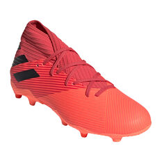 adidas Nemeziz 19.3 Football Boots Coral/Black US Mens 12 / Womens 13, Coral/Black, rebel_hi-res
