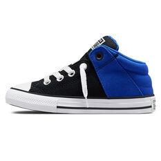 Converse Chuck Taylor All Star Axel Kids Casual Shoes Black/Blue US 11, Black/Blue, rebel_hi-res