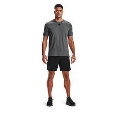 Under Armour Mens Project Rock Snap Shorts, Black, rebel_hi-res