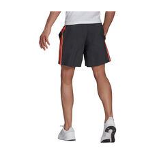 adidas Mens 3-Stripe Chelsea Shorts, Black, rebel_hi-res