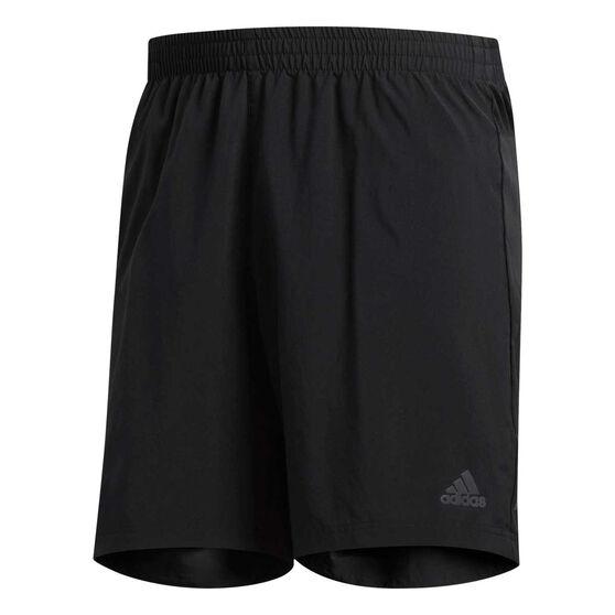 adidas Mens Run It 5in Running Shorts Black S, Black, rebel_hi-res